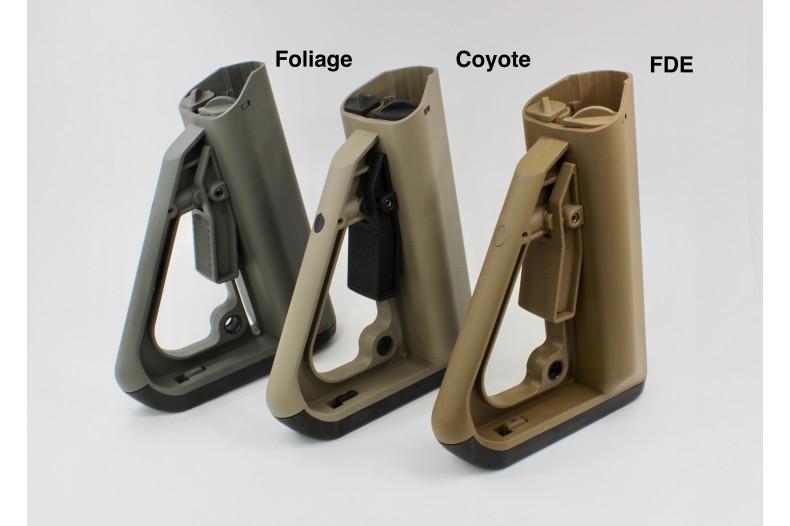 4pc Kit, ECS Enhanced Combat System Buttstock, Spring, Tube, Nut- Commercial Spec