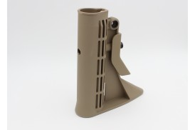 Buttstock, M4 Carbine w/QD Mount, Mil-Spec, Coyote Tan