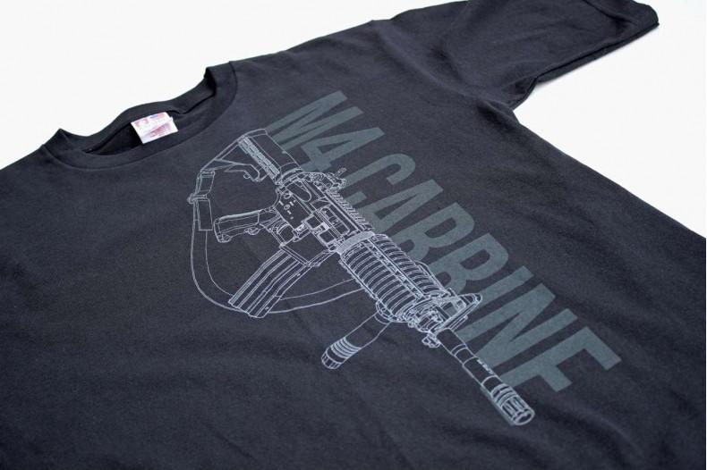 T-Shirt, M4 Carbine