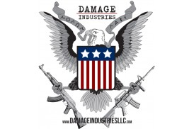 Damage Industries Vinyl Molon Labe Indoor/Outdoor Sticker