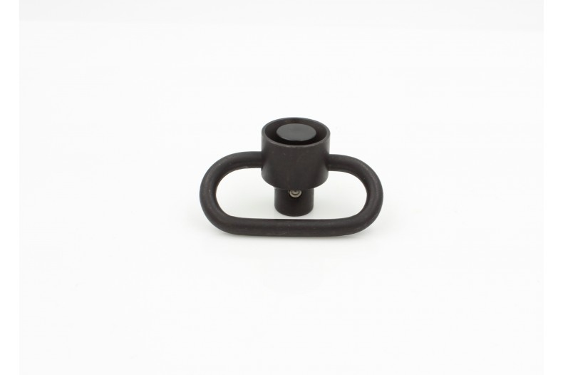 "Swivel, Quick-Detach, 1.25"" Loop, Heavy Duty, Stainless QD BLK"